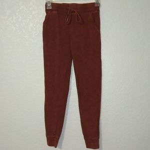 Free people movement skinny joggers acid burned